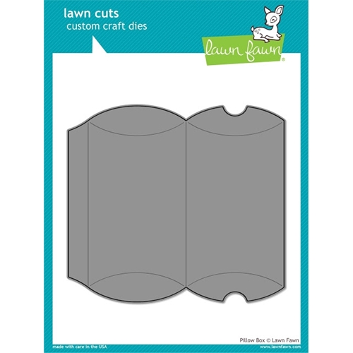 Lawn Fawn PILLOW BOX Lawn Cuts Die LF985 Preview Image