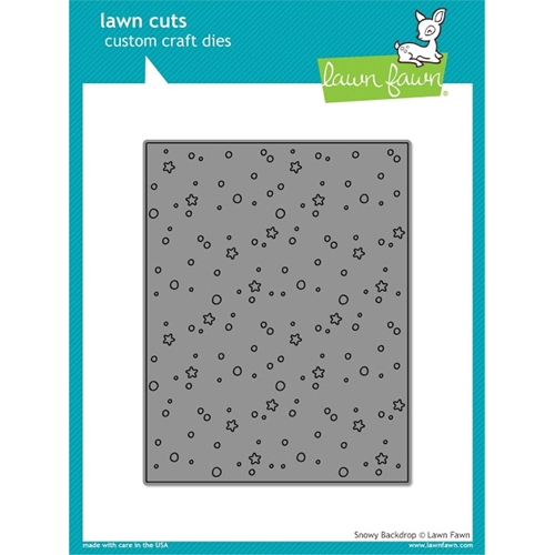 Lawn Fawn SNOWY BACKDROP Lawn Cuts Die LF996 Preview Image