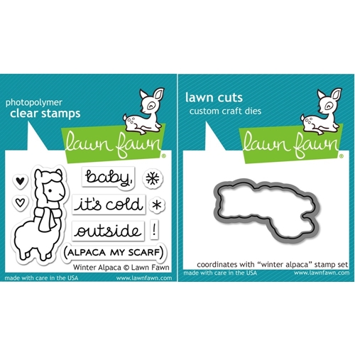 Lawn Fawn SET LF15SETWA COLD OUTSIDE Clear Stamps and Dies Preview Image