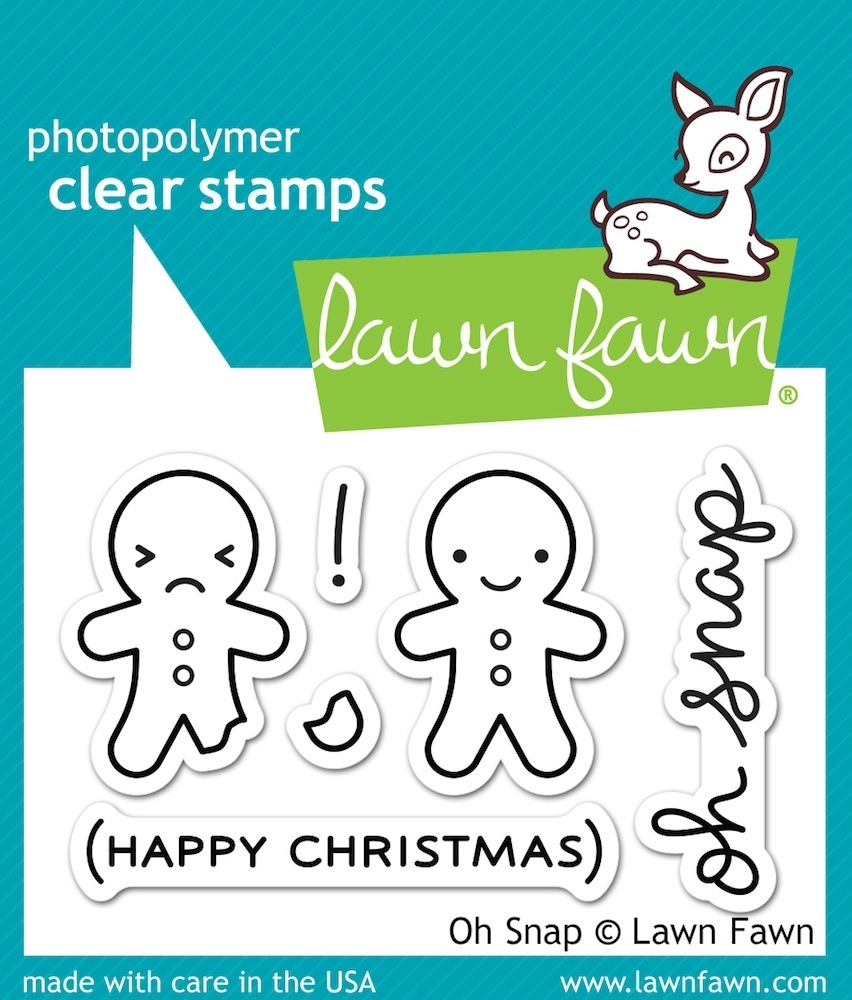 Lawn Fawn OH SNAP Clear Stamps LF983 zoom image