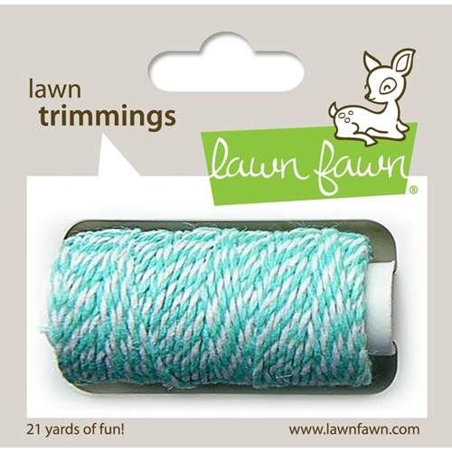 Lawn Fawn AQUAMARINE Single Cord Lawn Trimmings LF919 Preview Image