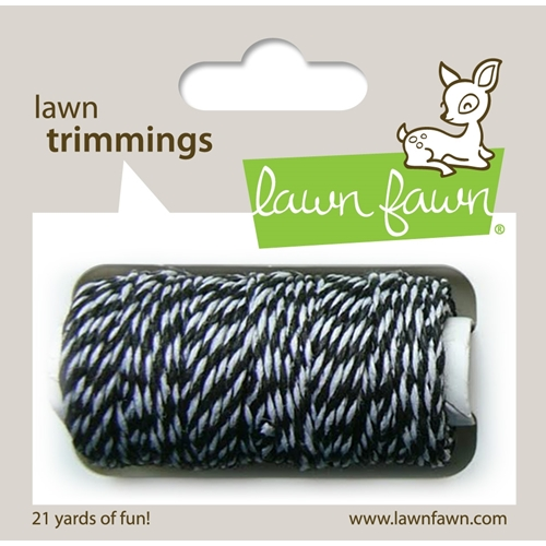 Lawn Fawn BLACK TIE Single Cord Lawn Trimmings LF920 Preview Image