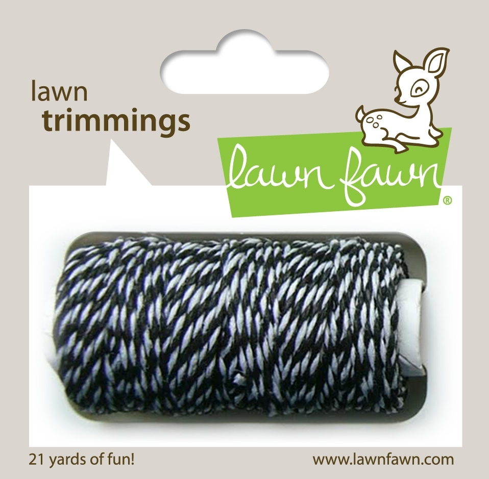 Lawn Fawn BLACK TIE Single Cord Lawn Trimmings LF920 zoom image