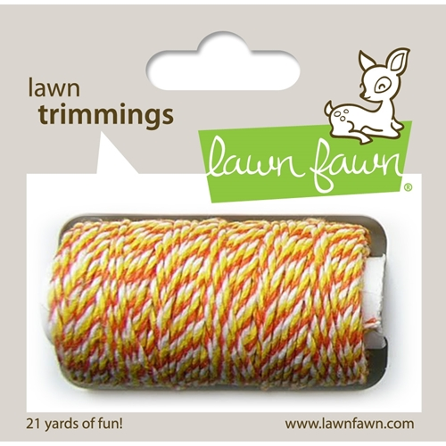 Lawn Fawn CANDY CORN Single Cord Lawn Trimmings LF921 Preview Image