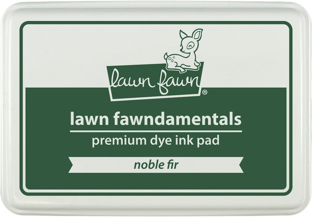Lawn Fawn NOBLE FIR Premium Dye Ink Pad Fawndamentals LF999 zoom image