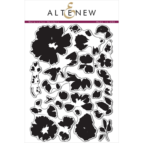 Altenew WATERCOLOR WONDERS Clear Stamp Set ALT1021 Preview Image