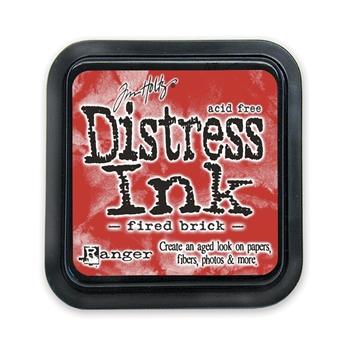 Tim Holtz Distress Ink Pad FIRED BRICK Ranger TIM20202