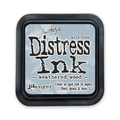 Tim Holtz Distress Ink Pad WEATHERED WOOD Ranger TIM20257 Preview Image