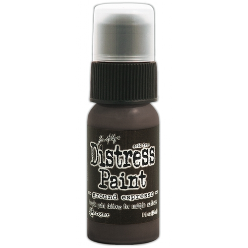 Tim Holtz Distress Paint GROUND ESPRESSO Ranger TDD43638 Preview Image