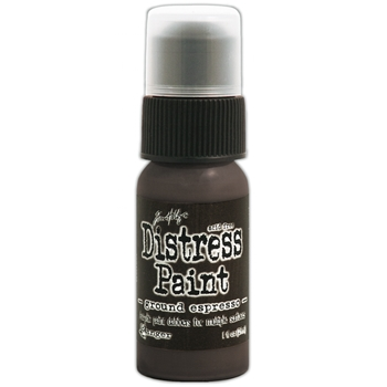 Tim Holtz Distress Paint GROUND ESPRESSO Ranger TDD43638
