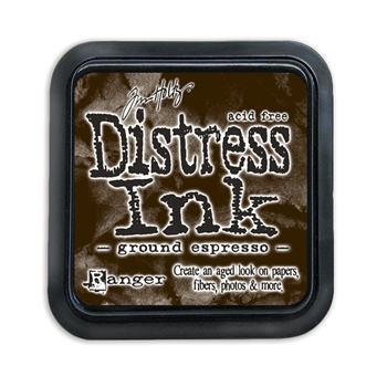 Tim Holtz Distress Ink Pad GROUND ESPRESSO Ranger TIM43270