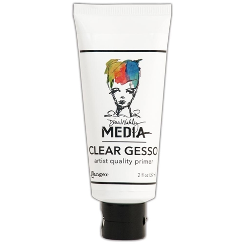 Dina Wakley Ranger CLEAR GESSO 2 OZ Tube Media MDM46417 Preview Image