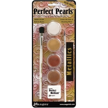 Ranger Perfect Pearls METALLICS Kit PPP15963
