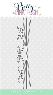 Pretty Pink Posh TWINE AND BOWS Steel Craft Dies  zoom image