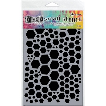 Dyan Reaveley Stencil 5 x 8 HONEYCOMB SMALL Dylusions DYS47094
