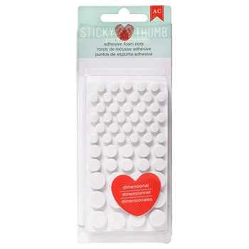 Sticky Thumb ADHESIVE FOAM DOTS American Crafts 340272