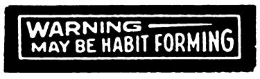 Tim Holtz Rubber Stamp HABIT FORMING D7-2650* Preview Image