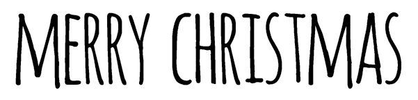Tim Holtz Rubber Stamp BOLD SCRIBBLE MERRY CHRISTMAS Stampers Anonymous D6-2709 zoom image