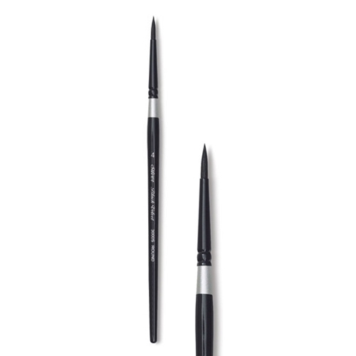 Silver BLACK VELVET Brush Size 4 Round 300541 Preview Image