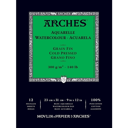 Arches COLD PRESSED WATERCOLOR PAD 140lb 012852  Preview Image