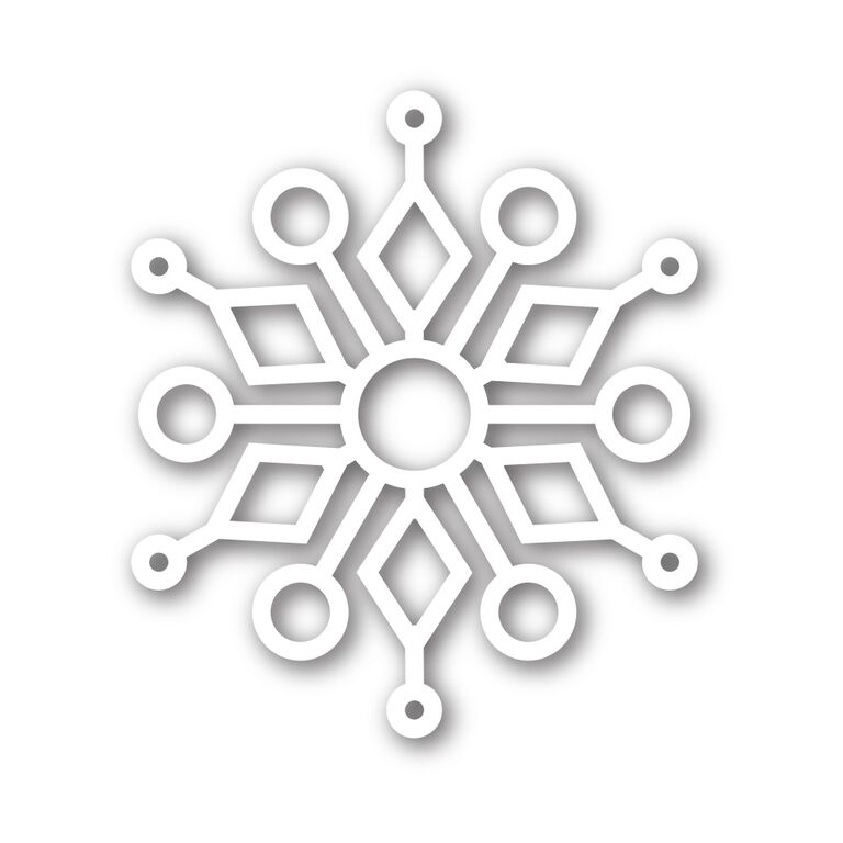 Simon Says Stamp KINLEY SNOWFLAKE Wafer Die sssd111500 zoom image
