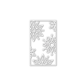 Simon Says Stamp SNOWFLAKE BLOCK Wafer Die sssd111504