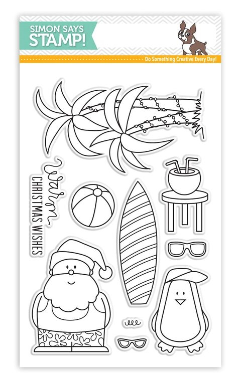 Simon Says Clear Stamps WARM CHRISTMAS WISHES sss101550 zoom image