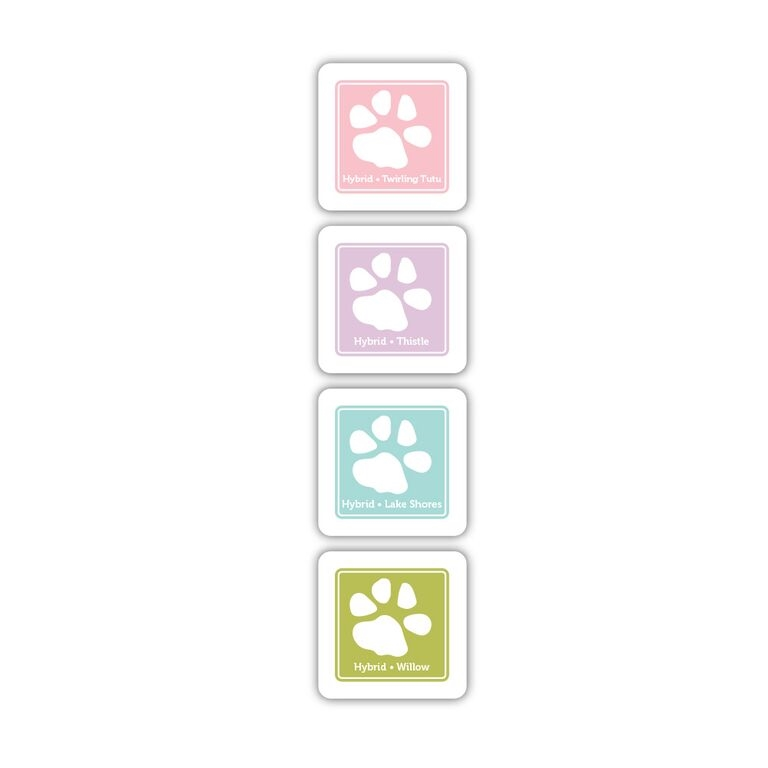 Simon Says Stamp Hybrid Ink Pad Cube Set SUMMER PLAY SD9 zoom image