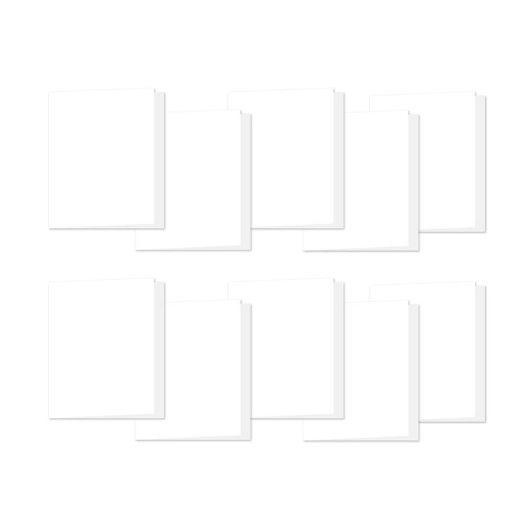 Simon Says Stamp WHITE A2 SIDE FOLD Scored Cards 120# 10 Pack a2side10 zoom image