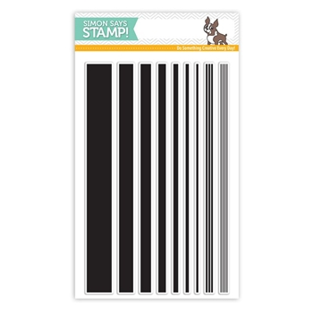 Simon Says Clear Stamps BASIC STRIPES sss101528