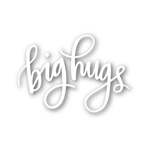Simon Says Stamp SCRIPTY BIG HUGS Wafer Dies sssd111491 Preview Image