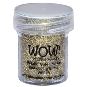 WOW Embossing Glitter METALLIC GOLD SPARKLE WS07R