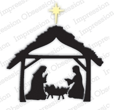 Impression Obsession Steel Die SMALL MANGER Set DIE355-M Preview Image