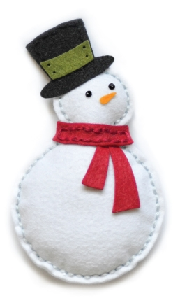 Memory Box PLUSH BUNDLED SNOWMAN Craft Die 99305 zoom image