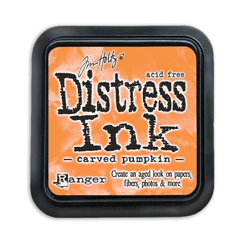 Tim Holtz Distress Ink Pad CARVED PUMPKIN Ranger TIM43201 Preview Image