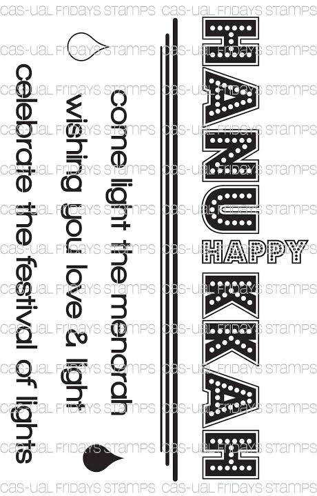 CAS-ual Fridays FESTIVAL OF LIGHTS Clear Stamps CFSS15013 zoom image
