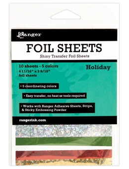 Ranger HOLIDAY Shiny Transfer Foil Sheets ISF48015 Preview Image