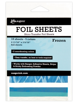 Ranger FROZEN Shiny Transfer Foil Sheets ISF48008