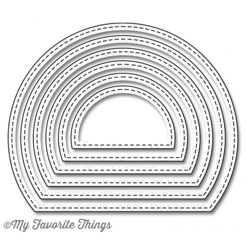 My Favorite Things STITCHED ARCH STAX Die-Namics MFT766 Preview Image