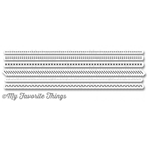 My Favorite Things BASIC STITCH LINES Die-Namics MFT777 Preview Image