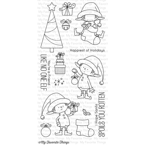 My Favorite Things SANTA'S ELVES Clear Stamps BB25 Preview Image