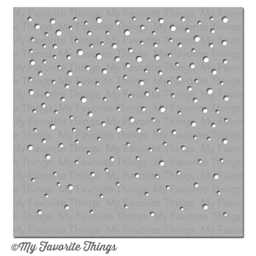 My Favorite Things SNOWFALL Mixables Stencil MFT ST85* Preview Image
