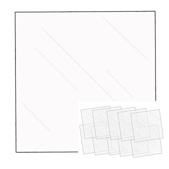 We R Memory Keepers FUSEABLES FUSE CLEAR 12x12 SHEETS 660871