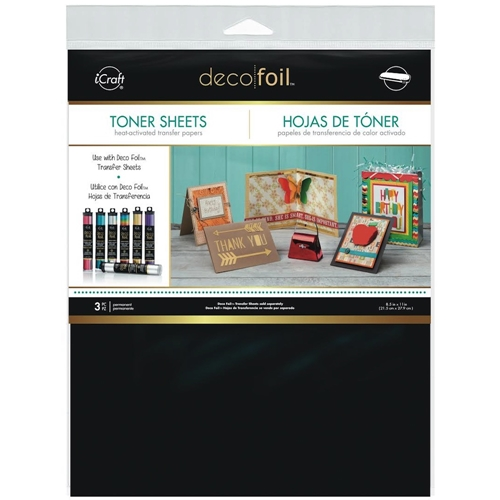 Therm O Web TONER SHEETS Deco Foil Heat Activated Transfer iCraft 03377 Preview Image