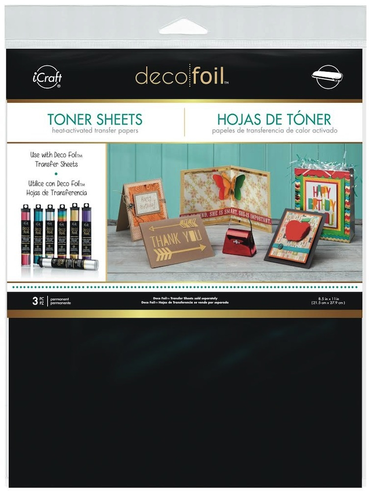Therm O Web TONER SHEETS Deco Foil Heat Activated Transfer iCraft 03377 zoom image