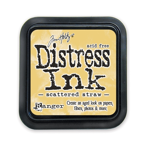 Tim Holtz Distress Ink Pad SCATTERED STRAW Ranger TIM21483 Preview Image