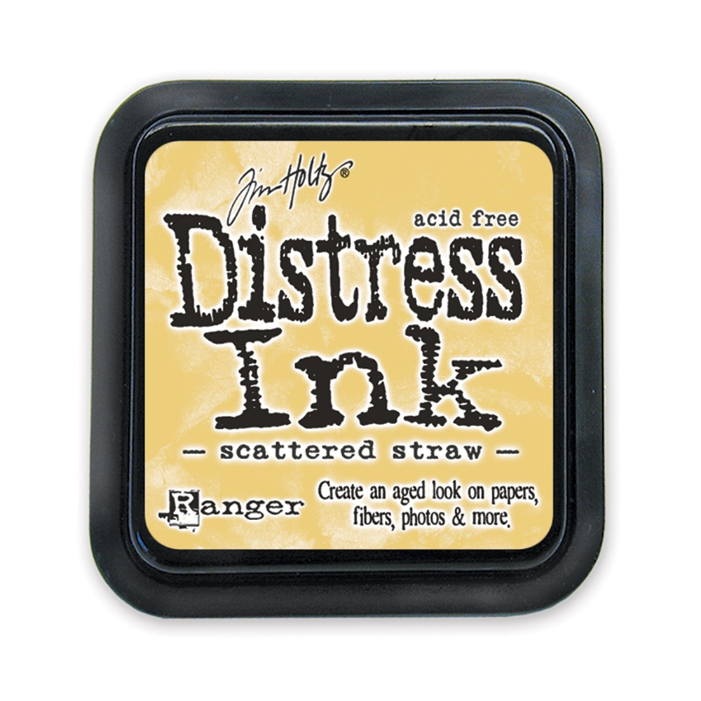 Tim Holtz Distress Ink Pad SCATTERED STRAW Ranger TIM21483 zoom image