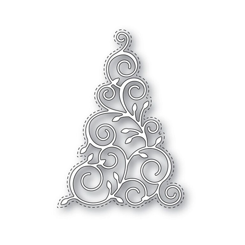 Simon Says Stamp CHRISTMAS TREE Wafer Die s331 Create Joy Preview Image