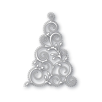 Simon Says Stamp CHRISTMAS TREE Wafer Die s331 Create Joy