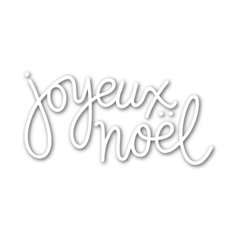 Simon Says Stamp JOYEUX NOEL Wafer Dies sssd111527 Create Joy